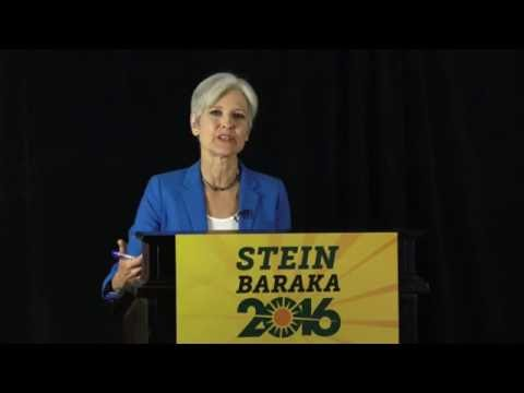 Green Party Presidential Candidate Jill Stein Occupied the Debates via Livestream
