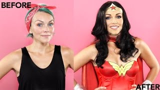Wonder Woman Make Up Tutorial Thumbnail