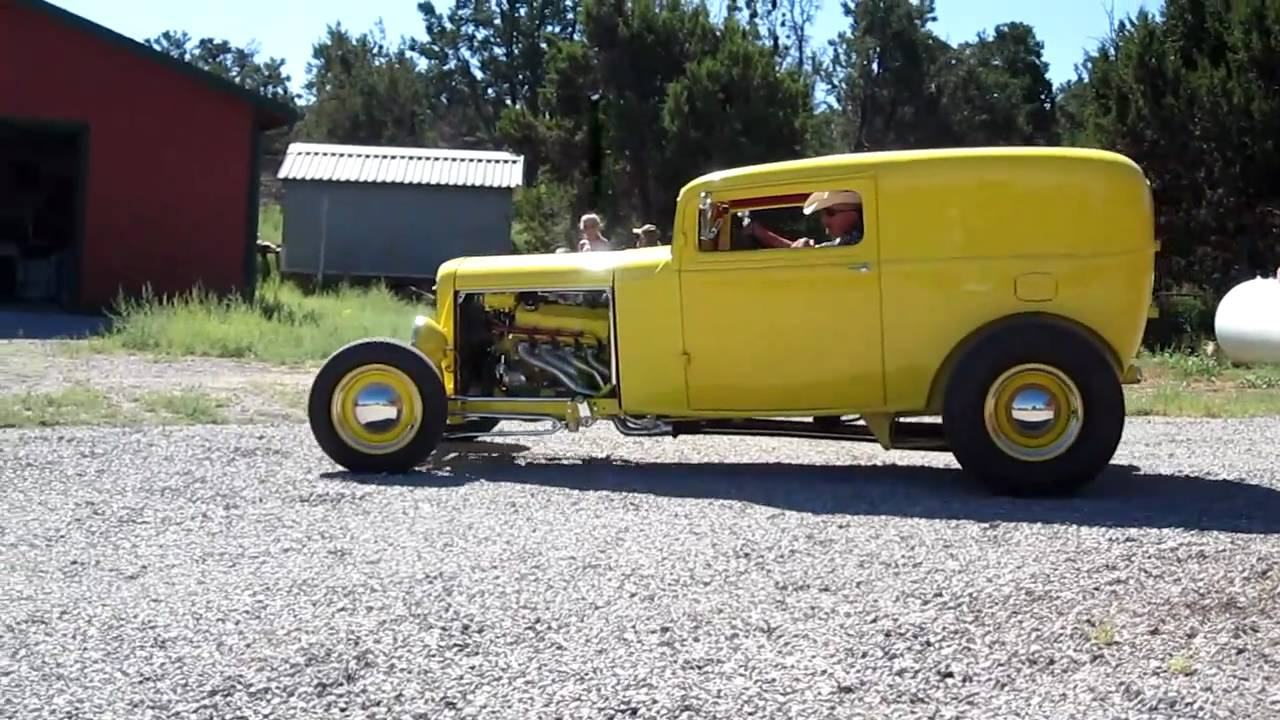 Sold: 1932 Ford Sedan Delivery - YouTube