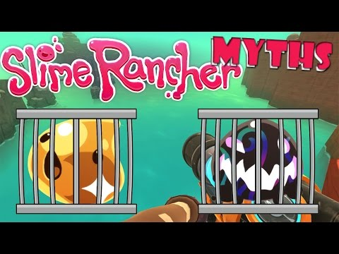 CAN YOU CAPTURE GOLD SLIMES & TARRS? | Slime Rancher Myths