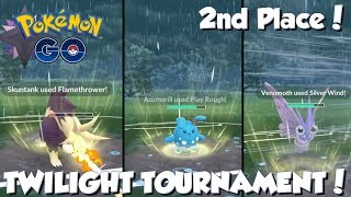 Download Video 2ND PLACE IN THE TWILIGHT TOURNAMENT! Pokemon GO PvP OFFICIAL TOURNAMENT! MP3 3GP MP4