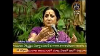 Aruna Sairam 07 Govinda leenamol Maand Meera Bhajan