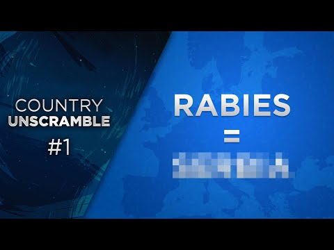 Guess The Scrambled Country Name #1 (Hard!)