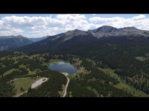 Colorado Rocky Mountains Drone Footage August 2016