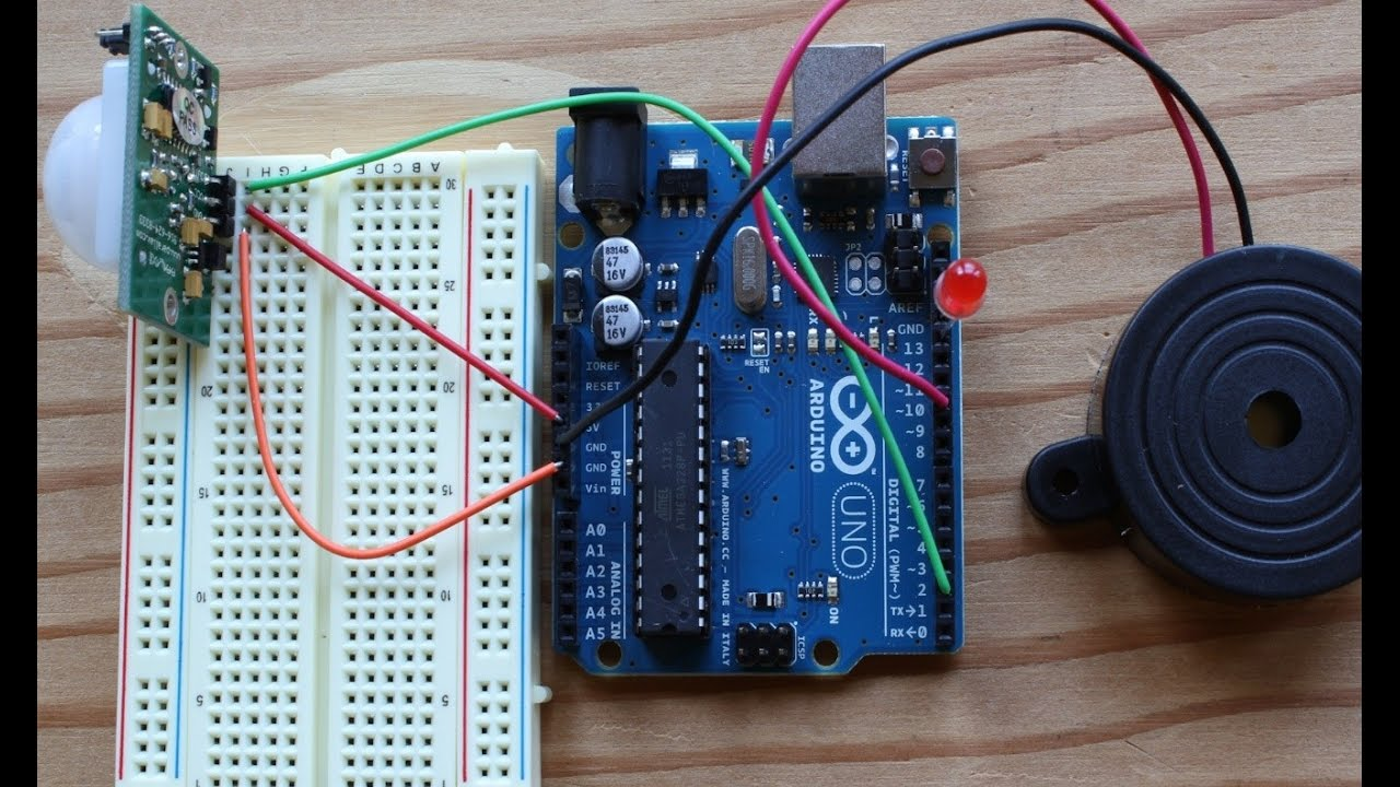 Home Security System Using Arduino And Gsm