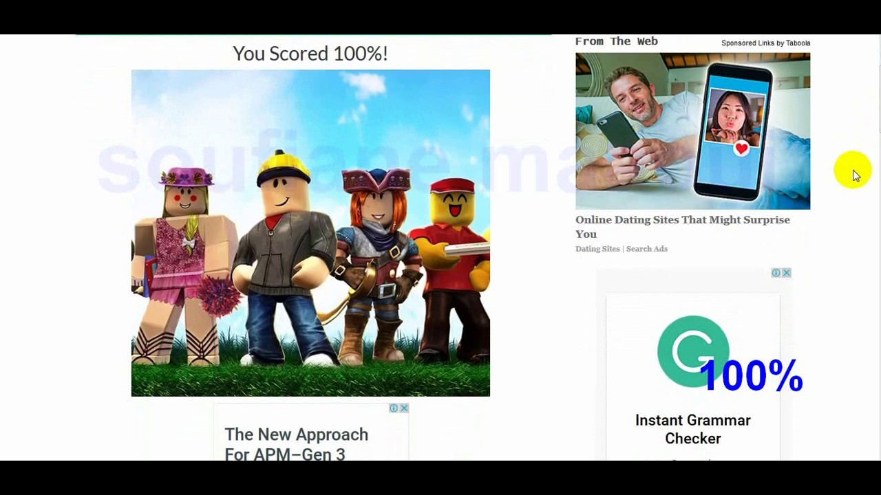 The Ultimate Roblox Quiz Answers 100 Youtube