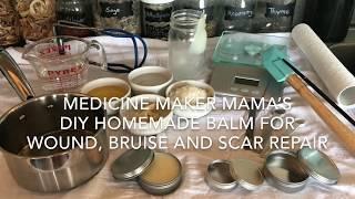 Wound, Bruise and Scar Repair Balm DIY