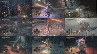 DARK SOULS 3 - 全ボス戦・ノーダメージ動画集/NO DAMAGE BOSS FIGHT COLLECTION(NEW GAME) thumbnail