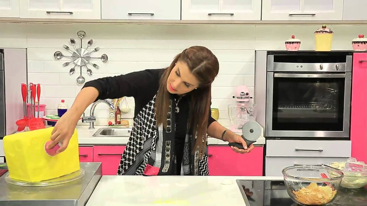 عجينة السكر - تزيين الكيك (سبونش بوب) : زعفران وفانيلا حلقة كاملة