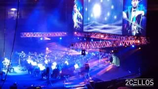 2CELLOS - My Heart Will Go On Titanic theme song Stožice arena, Ljubljana, Slovenia