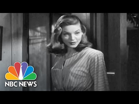 Icon Lauren Bacall Dies At 89  NBC