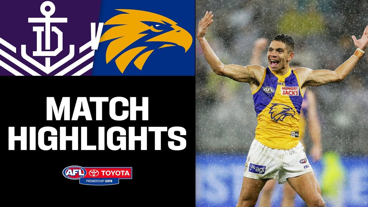 Small forwards light up Western Derby | Fremantle v West Coast Highlights |  Round 16, 2019 | AFL
