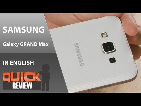 [EN] Samsung Galaxy Grand 3 (Grand Max) Quick Review [4K]