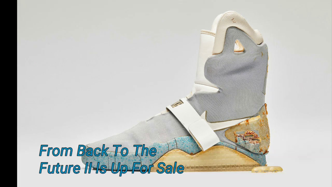 40faf1ccaf4 First look at The Original Nike Mag From Back To The Future II Is Up For  Sale