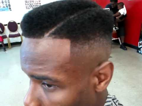 The tupac juice hair cut by big tx - YouTube
