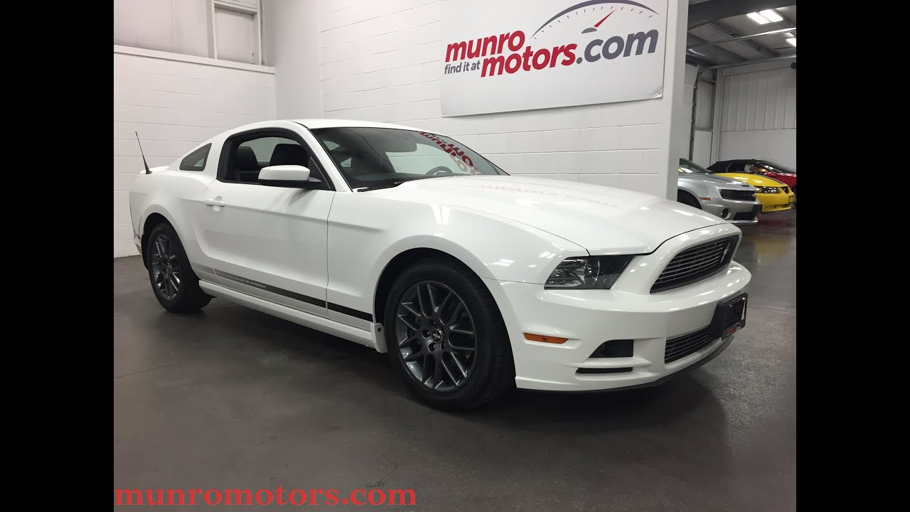 Mustang Club Of America >> 2013 Mustang Club Of America Edition Sold Munro Motors