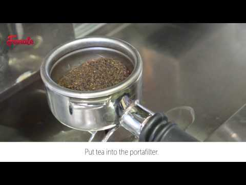 How to use Klub Tea Expresso Machine- Fanale Drinks