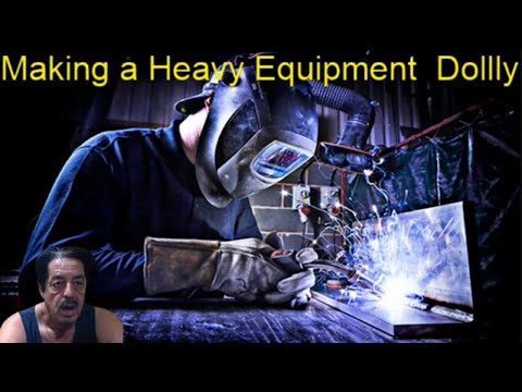 Heavy Equipment Base - DIY From Scrap Metal
