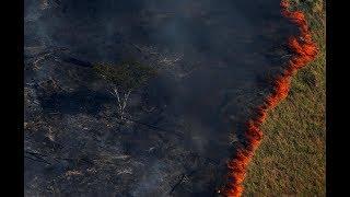 L'Amazonie brûle et inquiète le monde
