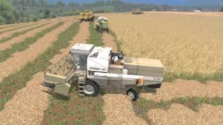 Farming Simulator 15 S15E1 Multiplayer - Żniwa w PGR