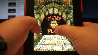 Temple Run Play Game Powered by kindle fire HD