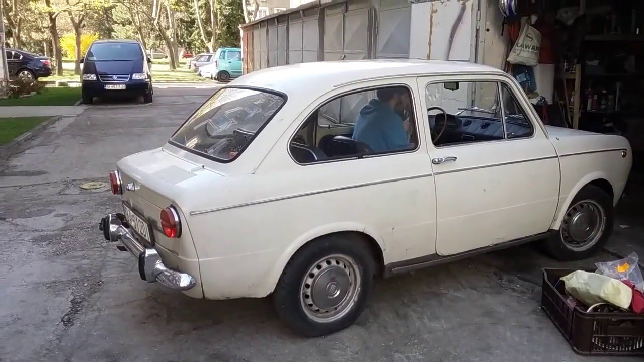 fiat 850 special starts after 7 years youtube. Black Bedroom Furniture Sets. Home Design Ideas