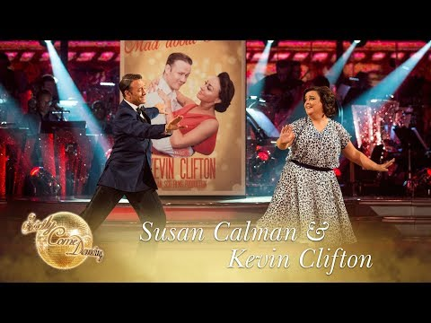 Susan Calman And Kevin Clifton Viennese Waltz To 'Mad About The Boy' - Strictly Come Dancing 2017