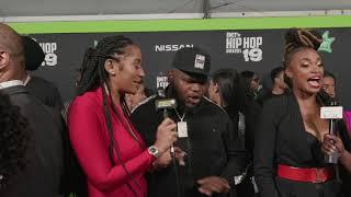 BET Hip-Hop Awards 2019: Bri Renee & Fatboy SSE
