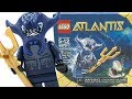 LEGO Atlantis Manta Warrior review! 2010 set 8073!