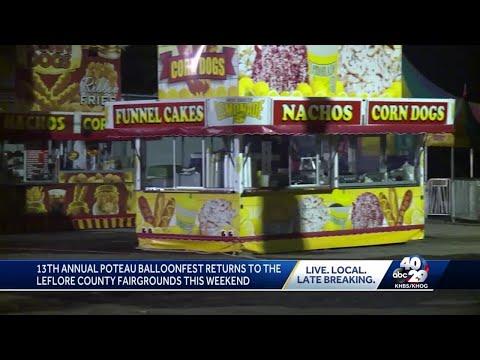 Steve Knoll - Annual Poteau Balloonfest Kicks Off on Friday