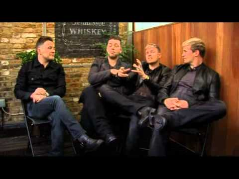 Westlife interview with ITN