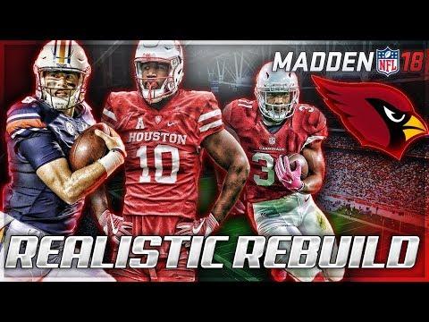 Rebuilding The Arizona Cardinals   Jarrett Stidham + Ed Oliver = SB?   Madden 18 Connected Franchise