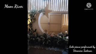 Moon River piano solo YouTube Thumbnail