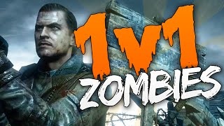 """Zombies 1v1 FREE FOR ALL Challenge - """"SECRET EXPLOSIVES!"""" (Call of Duty Der Riese #2)"""