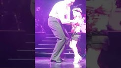 Lucys dreams coming true on stage with Brendan Cole at All Night Long tour Glasgow! Cinderella