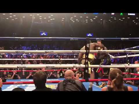 Wow... Knock out of the year.. I️ had the best seats | Wilder vs Stiverne