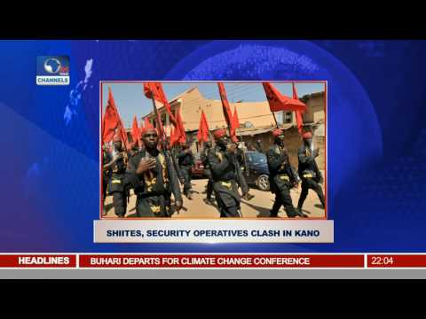 News@10: Shiites, Security Operatives Clash In Kano 14/11/16 Pt. 1