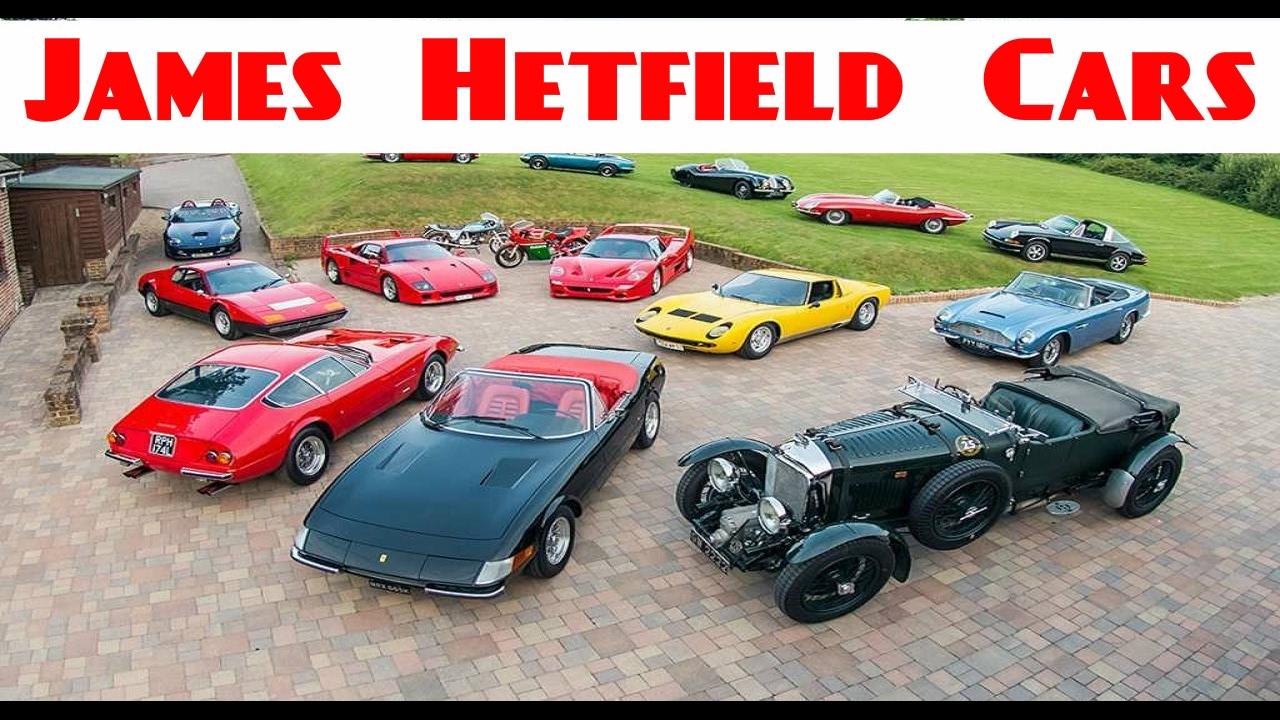James Hetfield Cars Collection - 2017 | James Hetfield ...