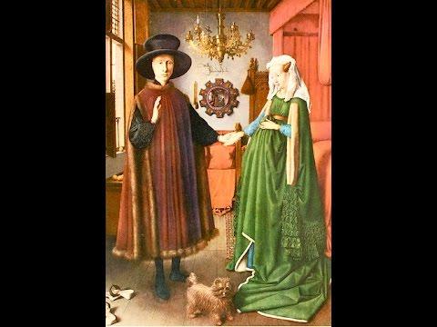 Jan Van Eyck- Ritratto dei coniugi Arnolfini(1434)