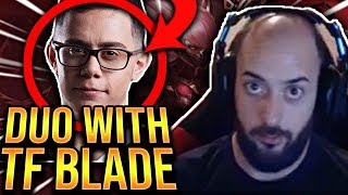 DUOING WITH TF BLADE!!! [WITH VOICE COMS] - Preseason To Challenger | League of Legends