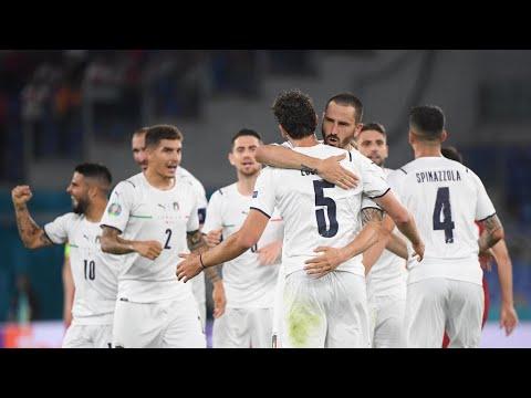 كأس الأمم الأوروبية 2021: إيطاليا تفتتح البطولة بفوز عريض على تركيا 3-صفر  - نشر قبل 16 ساعة