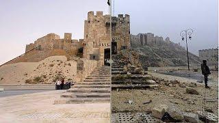 Savaş Öncesi Ve Sonrası Halep Şehri / Pre-war and post-war city of halep )