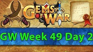 ⚔️ Gems of War Guild Wars | Week 49 Day 2 | Yasmine Loops ⚔️