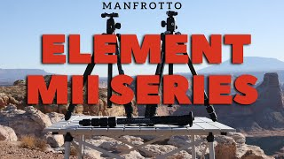 Manfrotto Element MII Series at Beautiful Lake Powell, Utah with Nathan Lee Allen