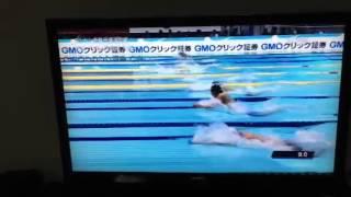 北島、日本新58秒90!!