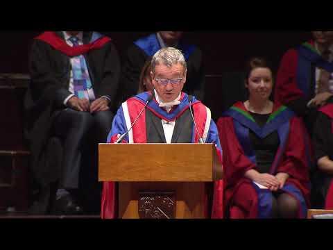 Edinburgh Napier University Graduation Thursday 1st Nov 2018 AM