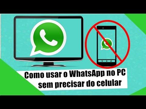 Como usar o whatsapp no pc sem precisar do celular smtech an error occurred stopboris Images