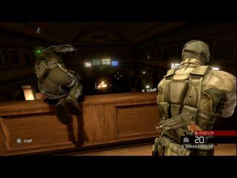 Splinter Cell Conviction Coop Gameplay Trailer Walkthrough