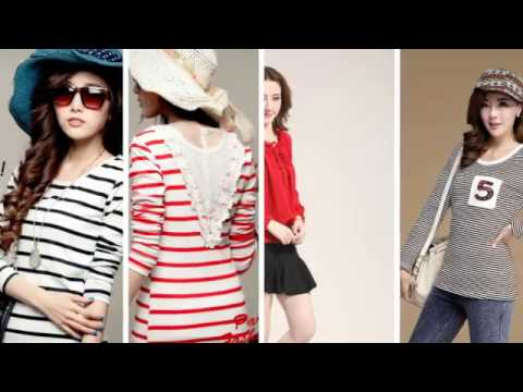Korean Fashion Style Tops And Tshirt Collection 2014 2015 Youtube