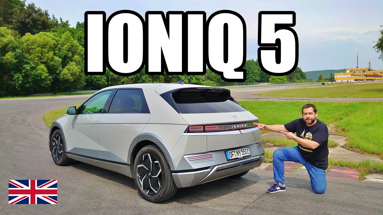 Hyundai IONIQ 5 - The Future Looks Like a Minecraft Golf (ENG) - Test Drive and Review